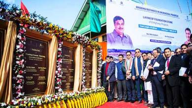 Photo of Arunachal: Gadkari lays foundation for 472 Km long Highway worth Rs 5583.93 Cr