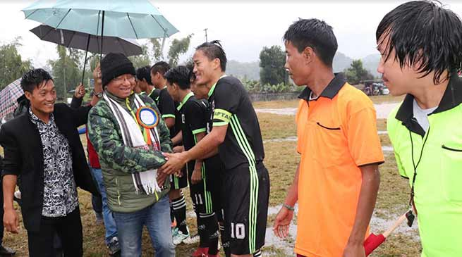 Arunachal:  YGFC lift Pachin premier league football tournament