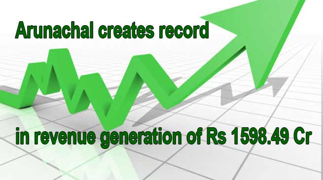 Arunachal creates record in revenue generation of Rs 1598.49 Cr