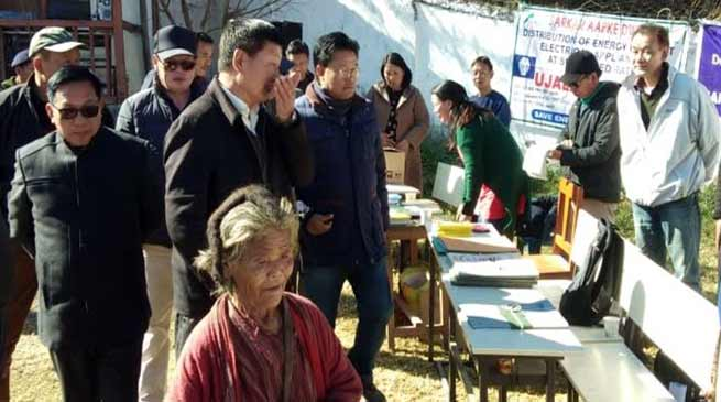 Arunachal: Sarkar Aapke Dwar held at Hoongla Village of Tawang dist