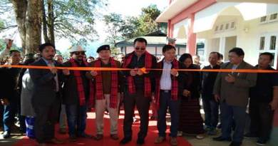 Arunachal : Mein inaugurates four developmental projects in Manmao
