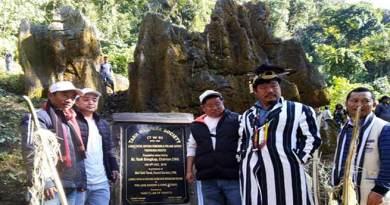 TWS laid foundation stone Trekking route to Langa tatah, Rayung Dumchup and Pwalang Sangri