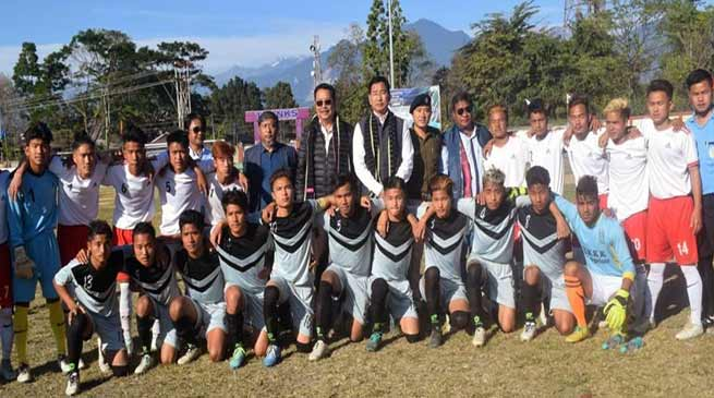 Arunachal: 3rd State level Hangpan Dada memorial trophy concludes