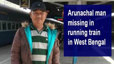 Arunachal man missing in running train in West Bengal