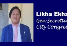 Likha Ekha , New GS of City Congress