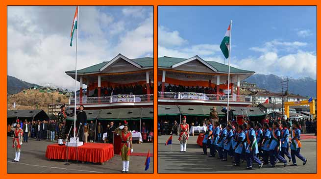 Arunachal: R-Day observed in Tawang