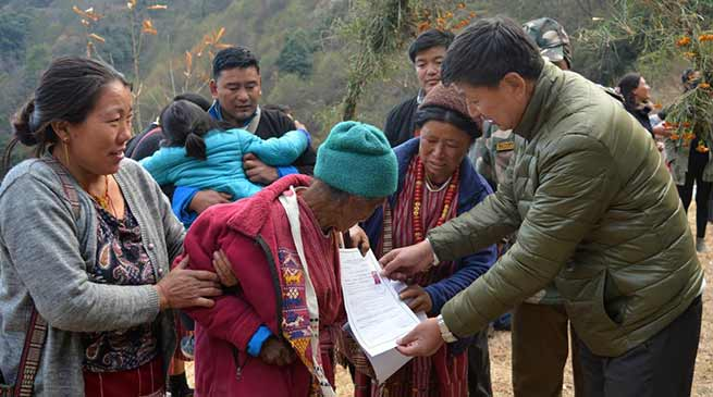 Arunachal: 91 years old lady gets ST and Birth certificate