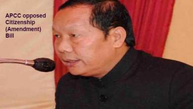 Photo of Arunachal: APCC opposed Citizenship (Amendment) Bill