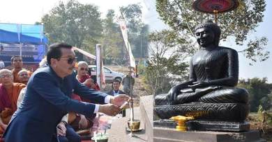 Assam: Buddhist Monastery would help to revive the lost culture- Chowna Mein