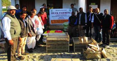 Arunachal: Training on Scientific Poultry and Duck farming