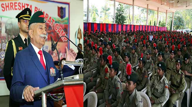 Arunachal: Governor addresses cadets in the 'Ek Bharat Shreshta Bharat' NCC Camp