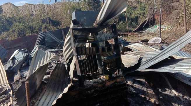 Itanagar: One OBT house gutted at Jullang