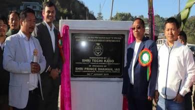 Photo of Itanagar: Kaso inaugurates Link road at Barapani , school infrastructure work at Lekhi