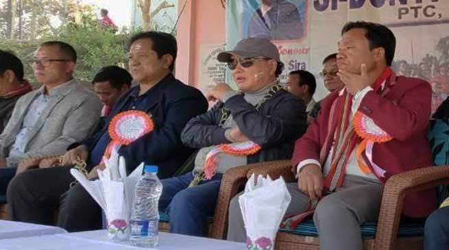 Arunachal:  Rebia attends Si-Donyi festival celebration at PTC