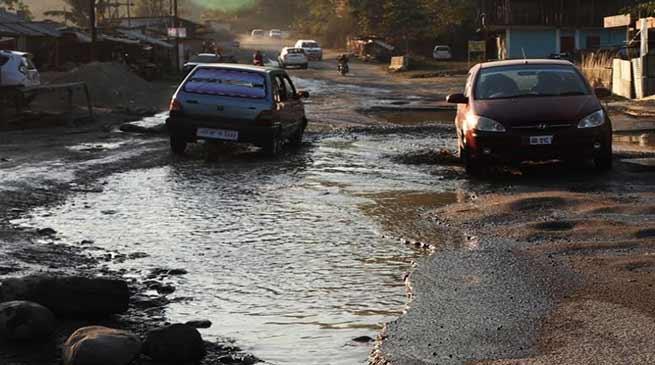 Arunachal: Story of TAH road, full of potholes