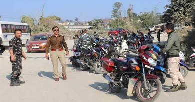 Itanagar: Capital Police collected over 43 lakh as fines in 2018