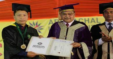 Arunachal: 3rd Convocation of  Arunachal University of Studies held