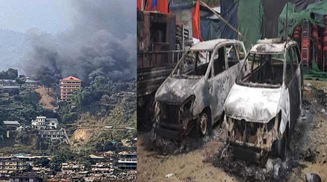 PRC issue: Protestersburnt Arunachal's Dy CM's house, curfew imposed