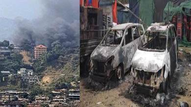 Photo of PRC issue: Protesters burnt Arunachal's Dy CM's house, curfew imposed