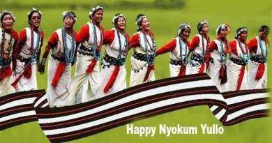 Arunachal CM greets people on Nyokum Yullo