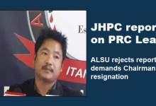 Photo of Arunachal: JHPC report on PRC Leak, ALSU rejects report and demands Chairman resignation