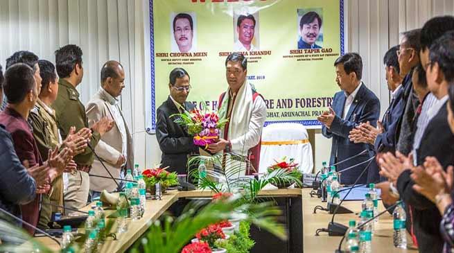 Arunachal: Bureaucrats are the main pillars of the government- Pema Khandu
