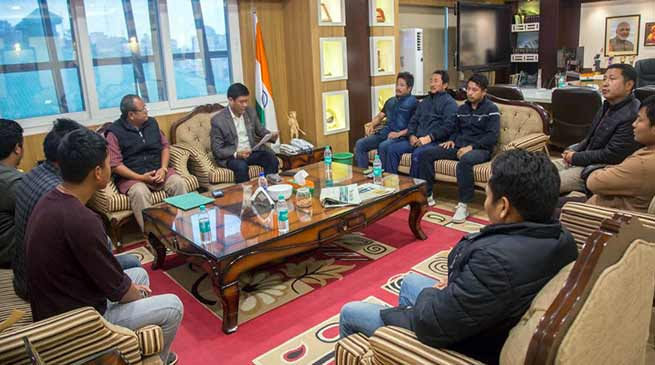 Arunachal: Khandu seeks cooperation of everyone to bring peace in the state capital