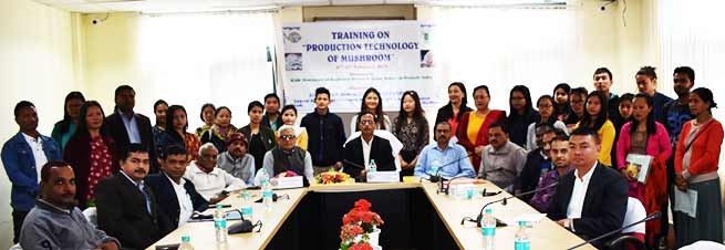 Arunachal: Training on Production Technology of Mushroom