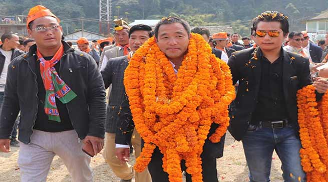 Arunachal: Businessman Nabam Tagi joins BJP