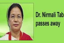 Photo of Itanagar: Dr. Nirmali Taba passes away