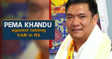 Citizenship Bill: Pema Khandu against tabling CAB in RS