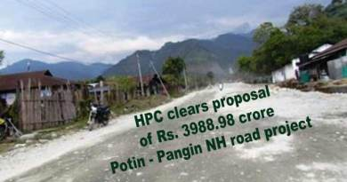 Arunachal: HPC clears proposal of Rs. 3988.98 crore Potin - Pangin NH road project