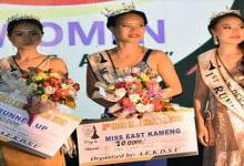 Photo of Arunachal: Sunita Tabri wins Xth Miss East Kameng-2019
