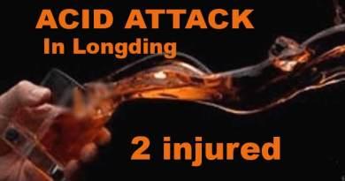 Arunachal: Acid attack on shopkeeper in Longding, 2 injured