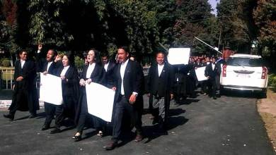 Photo of Arunachal:Protest March by Advocates