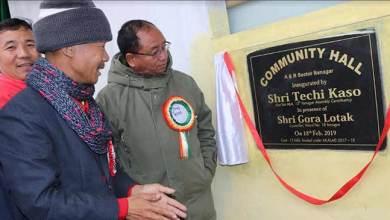 Photo of Itanagar : Kaso inaugurates Community hall in AB Sector