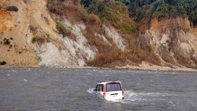Photo of Arunachal: School Bus, Scorpio swept away in Pare river while 25 picnickers saved themselves