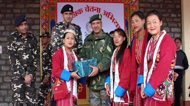 Arunachal: SSB organises civic action programme in Tawang