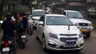 Photo of Itanagar:Massive traffic jam experienced, commuters faced untold suffering