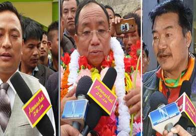 Itanagar: Kaso, Babu and Achung assured to work for public services if elected