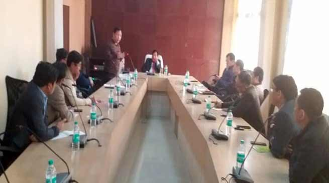Arunachal : All party coordination committee demands CM's resignation