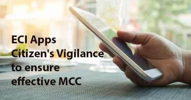 Itanagar: ECI Apps Citizen's Vigilance to ensure effective MCC