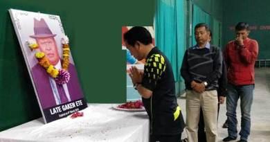 Arunachal: ASBA & APSCST condole death of Secretary Gaken Ete