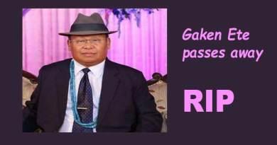 Arunachal: Secretary, Science & Technology & IT, Gaken Ete passes away