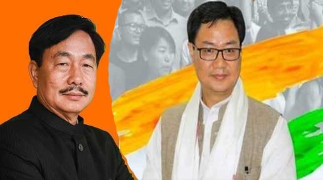 Arunachal: Rijiju, Gao  and Jomoh filed Nominations for LS seat