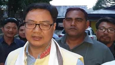 Photo of My first priority is development of state- Kiren Rijiju