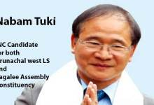 Arunachal:  AICC Names Former CM Nabam Tuki for MP and MLA ticket- Takam Sanjoy