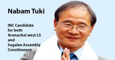 Arunachal: AICC Names Former CM Nabam Tuki for MP and MLA ticket- Takam Sanjoy
