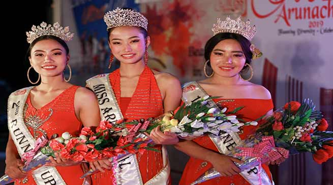 Roshni Dada crowned Miss Arunachal 2019
