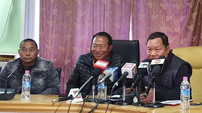 Arunachal: Congress will fight in All 60 Assembly seats- Takam Sanjoy